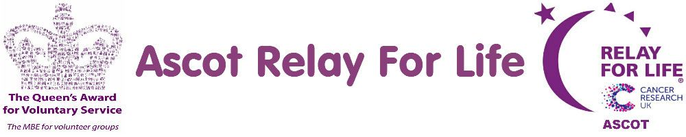 Relay for Life Ascot, site logo.