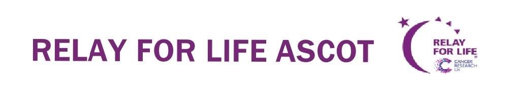 Relay for Life Ascot, site logo.