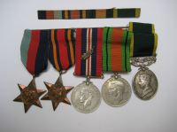WW2 Medal Group with Burma MID grouping to 922302 SJT B Wilson RA