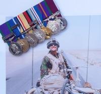 Afghanistan Gallantry group 24893495 WO2 RP Sterndale – Bennett Welsh Guards – Mansergh Memorial