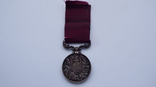 Sole entitlement Victorian Long Service Good Conduct to 6571 Pte J Hardy Sc