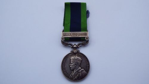 IGS NWF 1930 to 1931 to 4444944 Pte T F Stamper DLI / Later 6 Commando WIA
