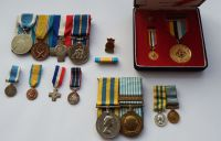 Queens Korea Medal group to 22507666 Pte D Young DLI