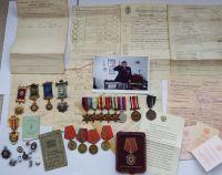 Royal Navy Commando group to D/SSX20145 PO Henry Clark RN