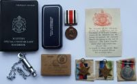 The Historically important HMS Hood casualty grouping to P/SSX 15163 Able Seaman James Pae Royal Navy with daughters Special Constabulary Medal