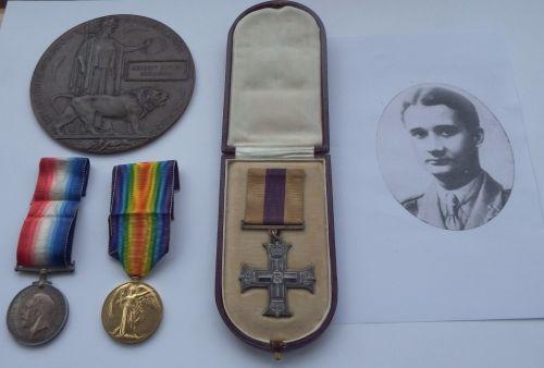 Military Cross grouping to 2/Lieut Herbert Butler Mulligan Royal Scots who