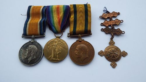 Territorial Force War Medal grouping to 805 DVR A N Searl RE