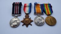 Military Medal 1914/15 Trio to 325410 Pte T Prudham 9/ Durh L I