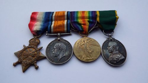 Territorial Force Efficiency Medal group to 378 SJT J Scurfield Durh L I /
