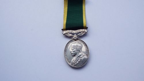 GV Territorial Efficiency Medal to 543580 TPR G P Stokoe Northd HRS