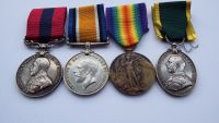 Distinguished Conduct Medal Group to 300616 A W O Cl 1 J Hylton 8 Durh L I