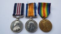 Military Medal pair to 99017 Cpl W Grant 15 Durh L I