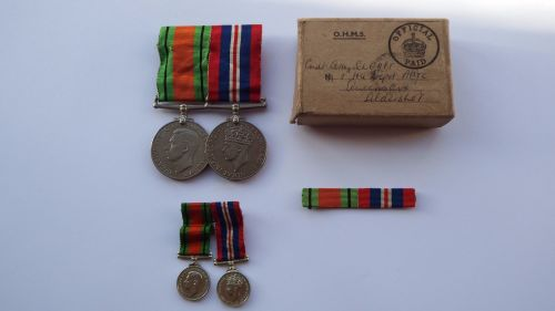 WW2 medals to Commandant of the Army Physical Training Corps