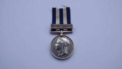 Egypt medal EL Teb Tammai to 1838 Pte G Martin 2 Royal Irish Fusillers