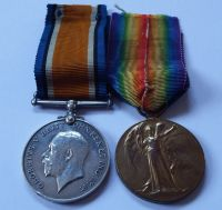 Pair to 98493 Pte W J Warren RAMC / served in Russia with black sea force
