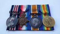 Military Medal 1914/15 to 14148 SJT J Hope 15 / Durh L I