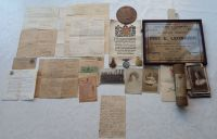 1914/15 Trio and Plaque to 10656 Pte E Leonardi 6 Linc R / KIA Gallipoli