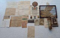 1914/15 Trio and Plaque to 10656 Pte E Leonardi 6 Linc R / KIA Gallipoli