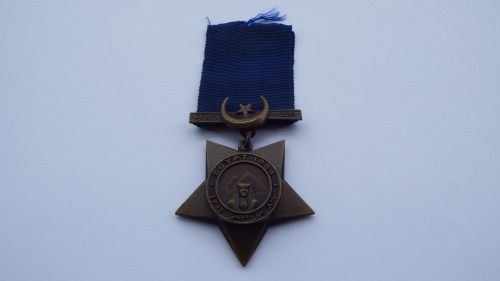 Khedive Star 1884 to 1818 Pte John Kenny 1 YLR / wounded