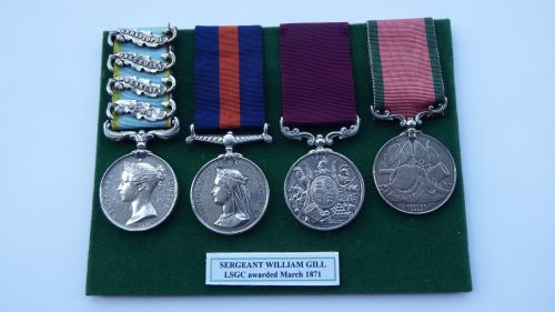 Crimea group to 2870 SGT William Gill 68th Foot