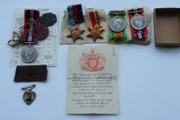 Second World War Casualty group to 4459221 Pte A Hogg DLI