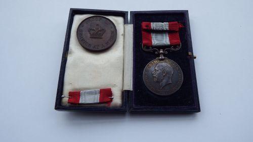 GV Rocket Apparatus medal to Harry Ferguson