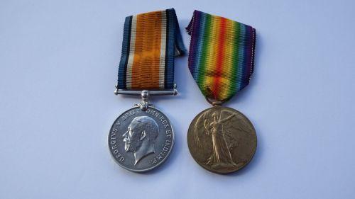 Casualty Great War Pair to 2988 Pte W Troke KOSB