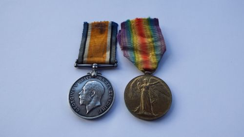 Casualty Great War Pair to 70251 Pte H H Potter RAMC / Lijssenthoek Militar