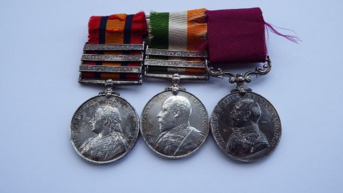 Boer War Long Service  and Good Conduct  group to 4178 Bandsman T Cole Nott