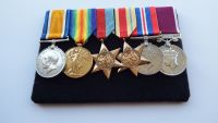 Tobruk Prisoner  of War group to Captain E P Rogers RASC / Late RE