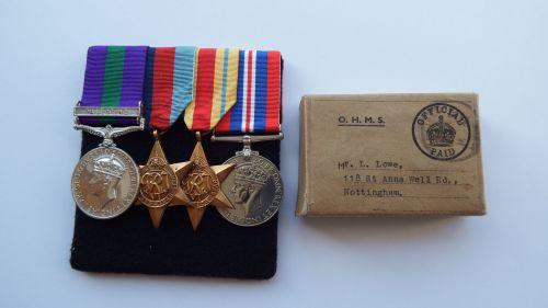 Prisoner of War group to 556106 TPR L Lowe 11 Hussars captured 27 December