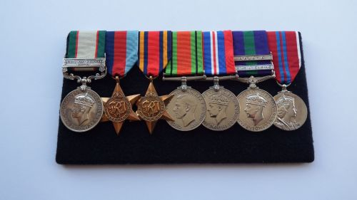 A campaign group to 5826931 WO CL 1 P R D Goodwin RAOC / late Suffolk Regt