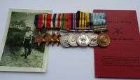 Campaign Group to 22773458 SGT J Lancaster Black Watch / Wounded twice