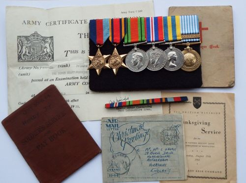 CampaignGroup to 4915656 RFN J Hardy Royal Ulster Rifles / A Chindit during