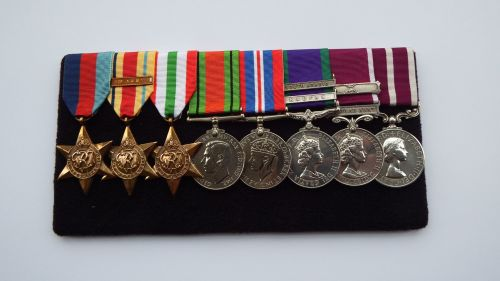 EII Meritorious Service Medal group to 849604 WOCL2 F G London RA