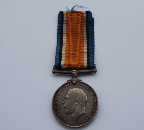 British War medal to 16/631 Cpl W Buchan NorthD Fus / KIA First day of the