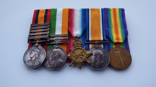 Boer War and Great War group to 2991 Cpl C Seymour S Lan R
