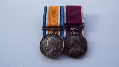 British War Medal /LSGC to 7579150 WOCl 2 R A Stokoe RAOC