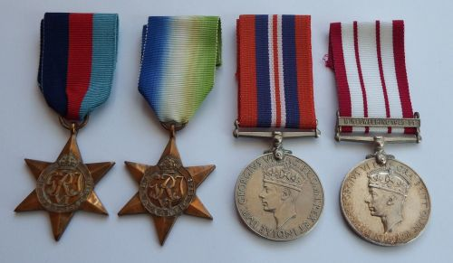 Naval Campaign group WW2 and NGSM Minesweeping 45/51 to D/KX179025 I F Hopk