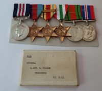 GVI Military Medal Group to 4975944 L SJT W Wilson Foresters / MM for destroying an MG in Tunisia / KIA Anzio