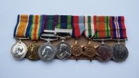 Wonderful Group of Medals and Ephemera to Lt Colonel L V Younie Argylls and R Sigs / MID