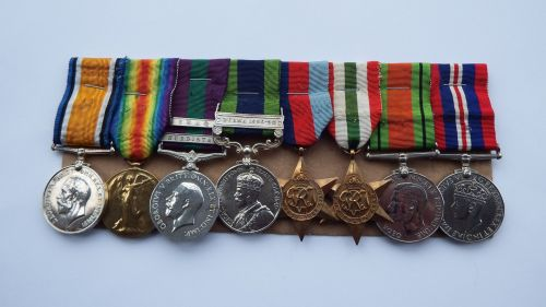 Wonderful Group of Medals and Ephemera to Lt Colonel L V Younie Argylls and