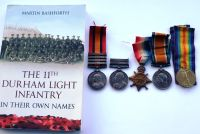 Campaign Group to 3749 WO II T Fearnley Durham Light Infantry