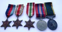 Territorial Group to 309898 Gnr E B Derrick RA / Lanarkshire Yeomanry Territorial