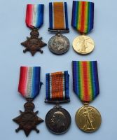 Trios to Brothers in RAMC with consecutive service numbers