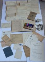 Logbook grouping to E0577320 F Sgt C H I Hill RAF