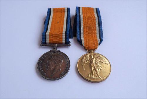 A Great War Pair to T4/247544 Dvr G Foxall ASC