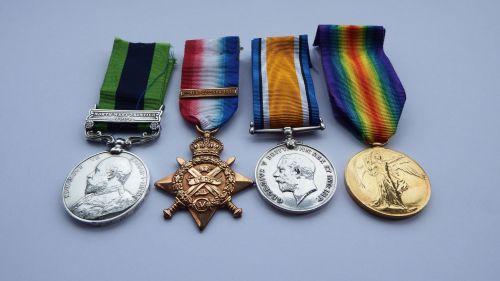 An IGS 1908 /1914 Trio to 845Pte G W Garside R War R