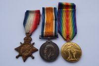 Casualty 1914/15 Trio to 926 Pte L F Joyce Dorset Yeo