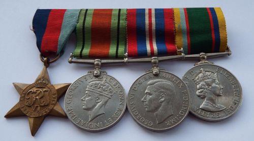 Cadet Forces group to Flight Lieutenant A.E. Dukes, Royal Air Force Volunte